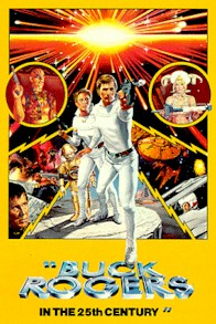 French poster from the series Buck Rogers in the 25th Century