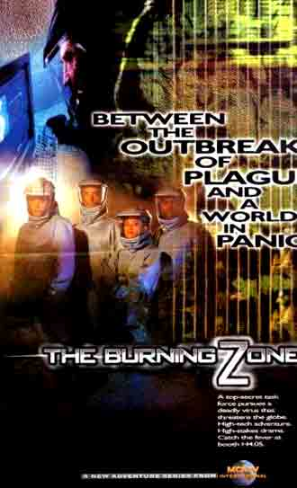 Us poster from the series The Burning Zone