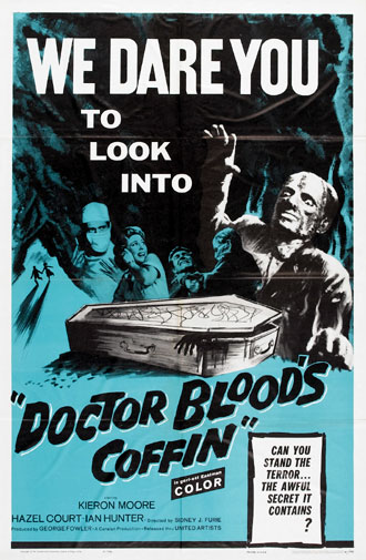 Us poster from the movie Dr. Blood's Coffin (Doctor Blood's Coffin)