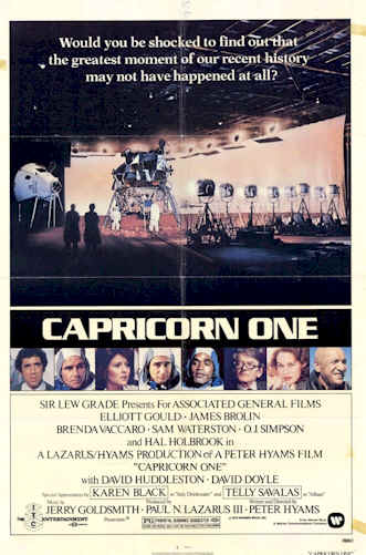 Us poster from the movie Capricorn One