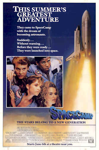 Us poster from the movie SpaceCamp