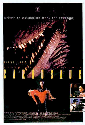 Unknown poster from the movie Carnosaur