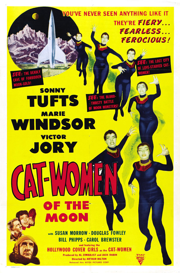 Us poster from the movie Cat-Women of the Moon