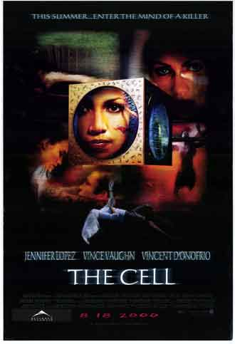 Affiche américaine de 'The Cell'