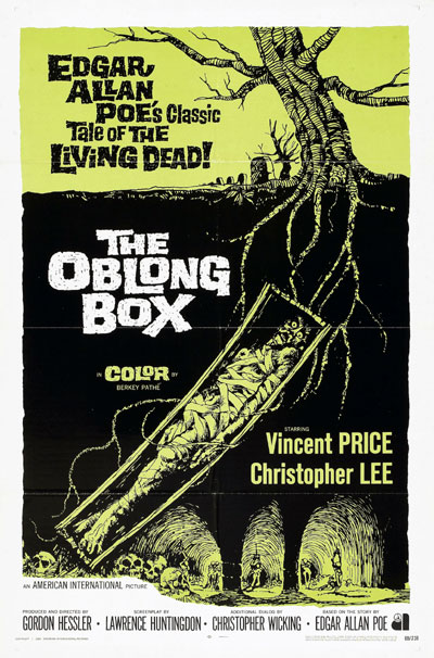 Us poster from the movie The Oblong Box
