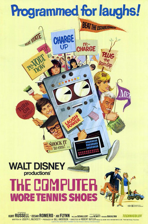Us poster from the TV movie The Computer Wore Tennis Shoes