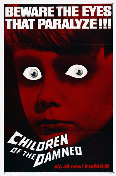 Us poster from the movie Children of the Damned