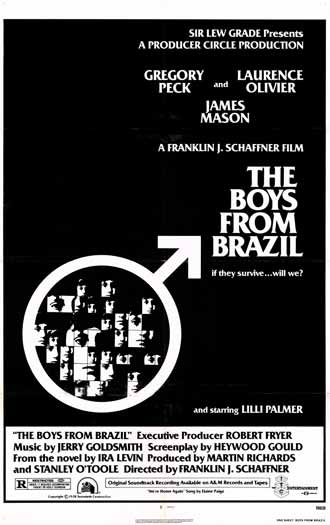 Us poster from the movie The Boys from Brazil