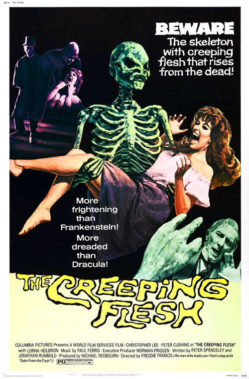 Us poster from the movie The Creeping Flesh