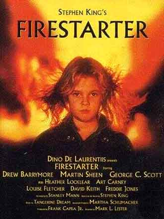 Unknown poster from the movie Firestarter