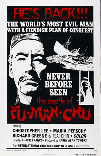 Us poster from the movie The Castle of Fu Manchu
