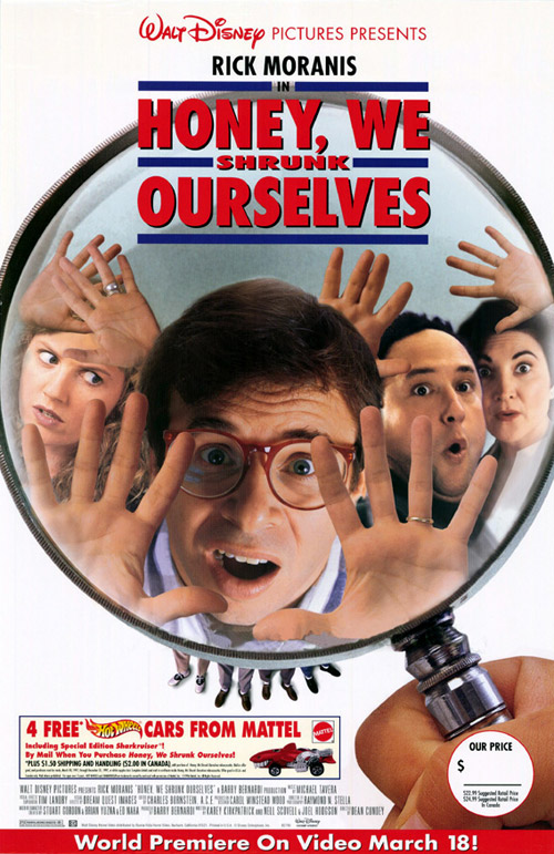 Us poster from the movie Honey, We Shrunk Ourselves