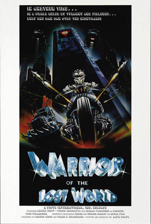 Unknown poster from the movie Warrior of the Lost World