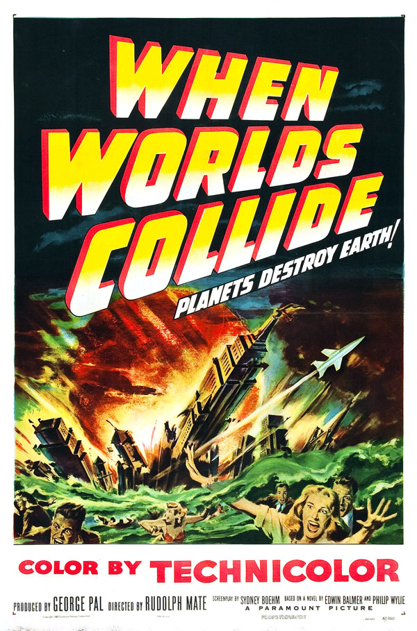 Us poster from the movie When Worlds Collide