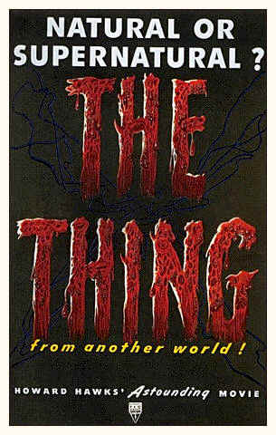 Unknown poster from the movie The Thing from Another World