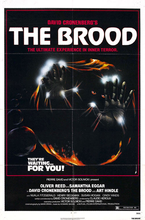 Us poster from the movie The Brood