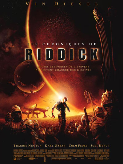 Us poster from the movie The Chronicles of Riddick