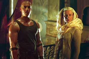 Riddick et Aeron - The Chronicles of Riddick
