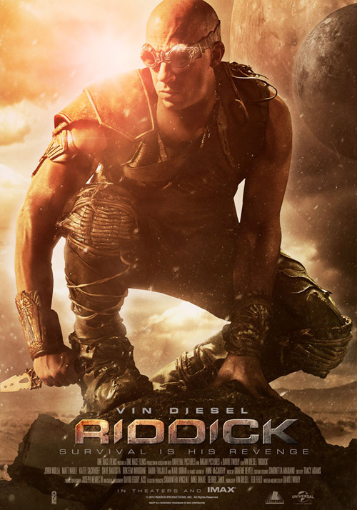 Us poster from the movie Riddick