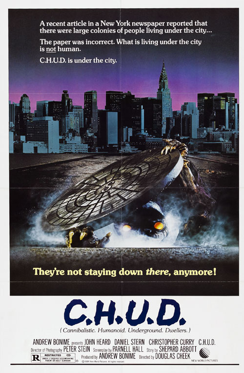 Us poster from the movie C.H.U.D.