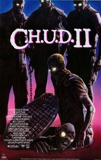 Us poster from the movie C.H.U.D. II - Bud the Chud