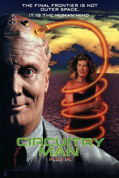 Unknown poster from the movie Circuitry Man
