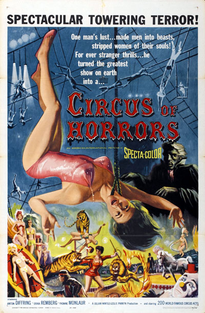 Us poster from the movie Circus of Horrors
