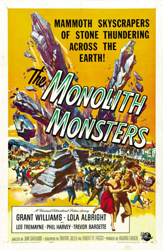 Us poster from the movie The Monolith Monsters