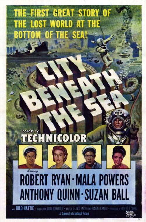 Us poster from the movie City Beneath the Sea