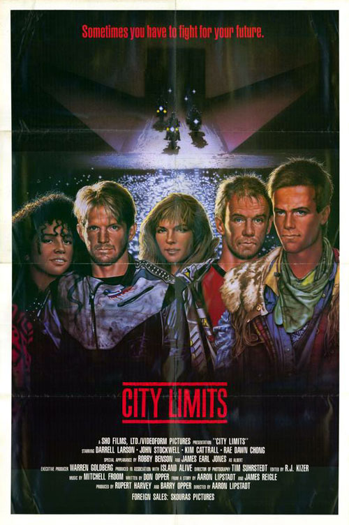 Affiche inconnue de 'City Limits'