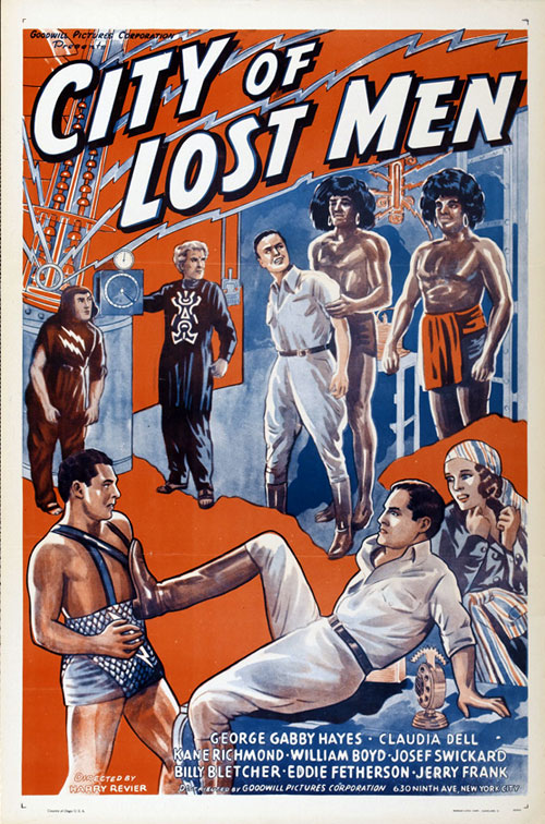 Affiche américaine de 'City of Lost Men'