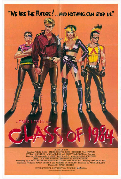 Us poster from the movie Class of 1984