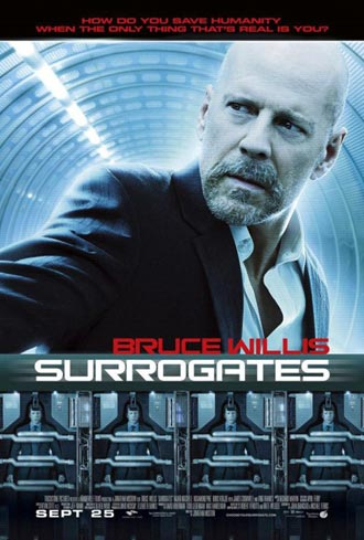 Us poster from the movie Surrogates