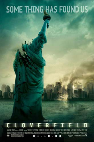 Us poster from the movie Cloverfield