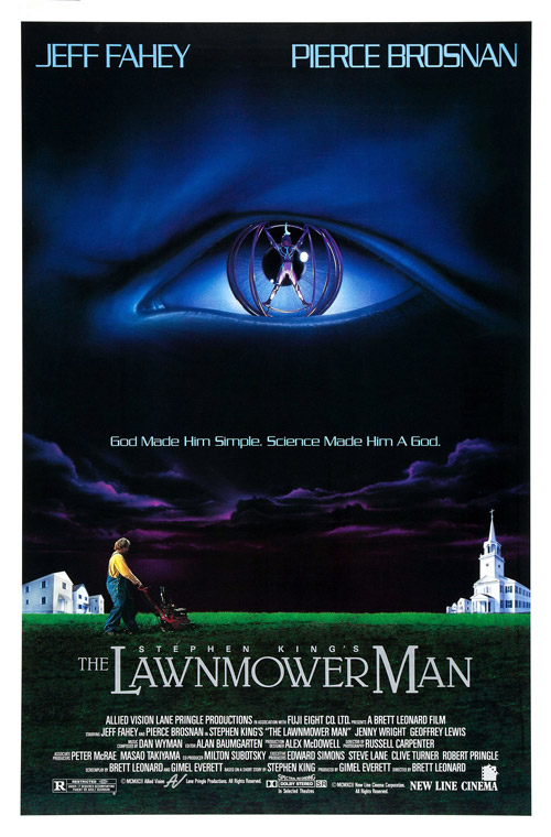 Us poster from the movie The Lawnmower Man