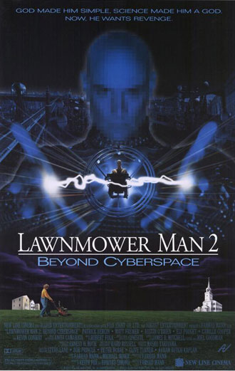 Us poster from the movie Lawnmower Man 2: Beyond Cyberspace