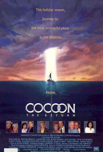 Us poster from the movie Cocoon: The Return