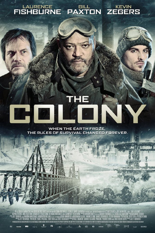 Affiche inconnue du film The Colony