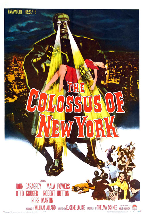 Us poster from the movie The Colossus of New York