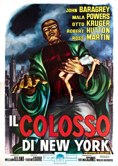 a review of the colossus of new york a movie by eugene lourie Overview of the colossus of new york, 1958, directed by eugene lourie, with john baragrey, mala powers, otto kruger, at turner classic movies.