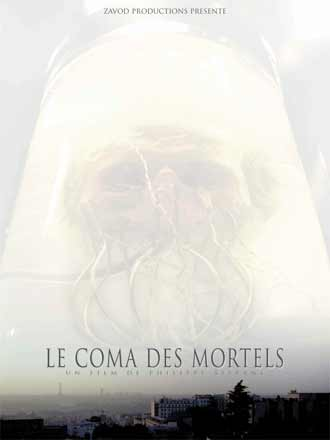French poster from the movie Le Coma des mortels (Le coma des mortels)