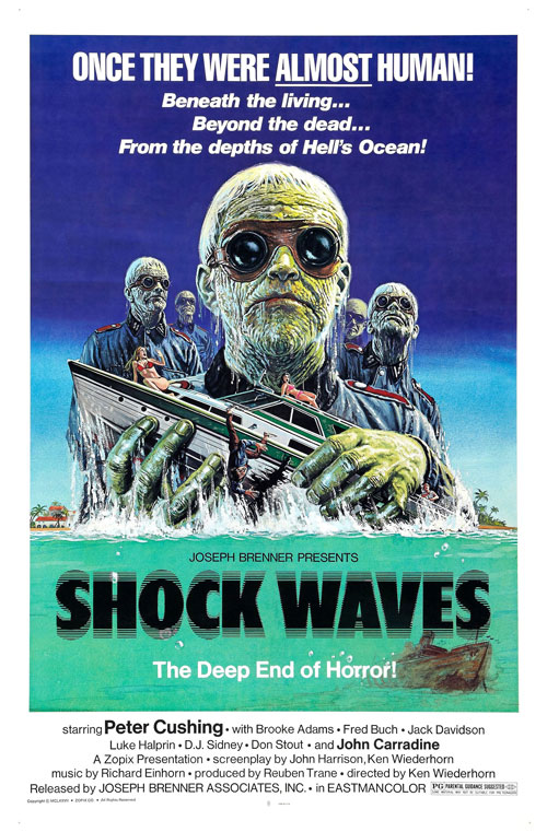 Us poster from the movie Shock Waves