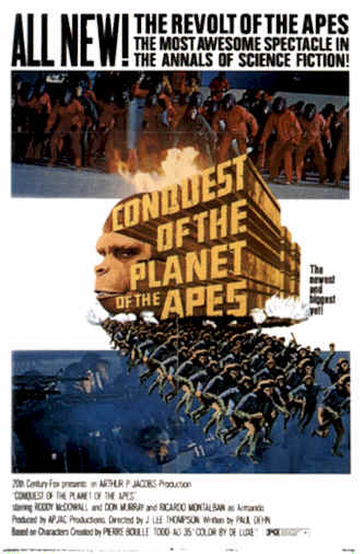 Unknown poster from the movie Conquest of the Planet of the Apes