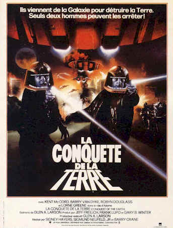 French poster from the TV movie Conquest of the Earth