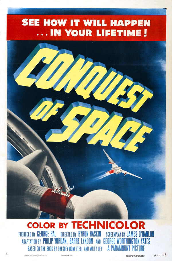 Us poster from the movie Conquest of Space