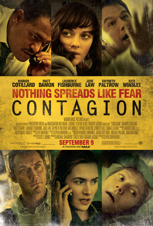 Us poster from the movie Contagion