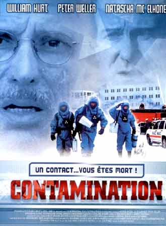 French poster from the movie Contaminated Man