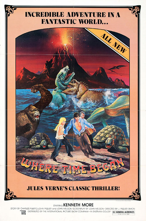 Us poster from the movie Journey to the Center of the Earth (Viaje al centro de la Tierra)