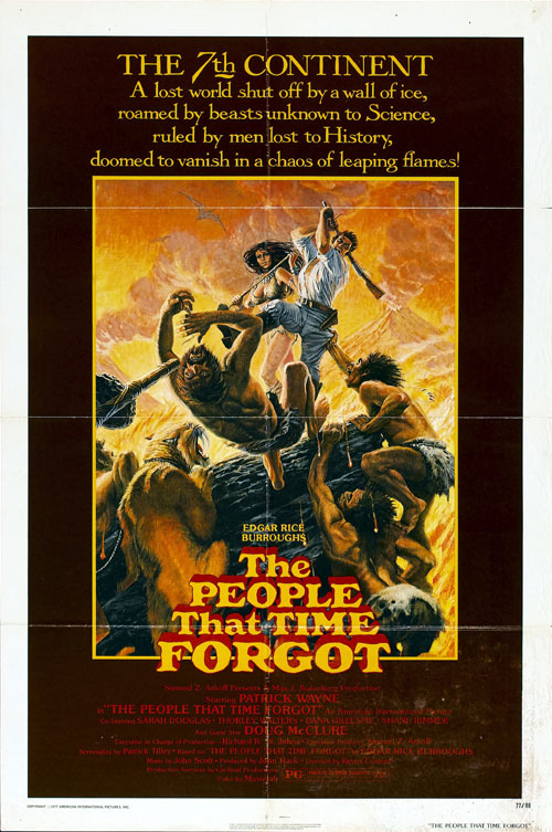 Us poster from the movie The People that Time Forgot (The People That Time Forgot)
