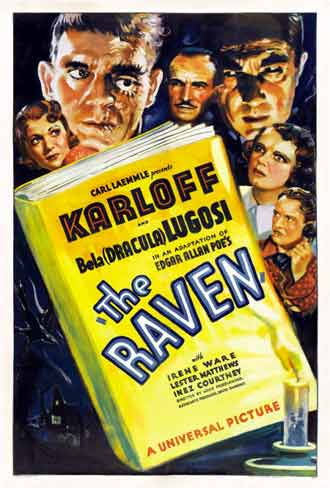 Unknown poster from the movie The Raven
